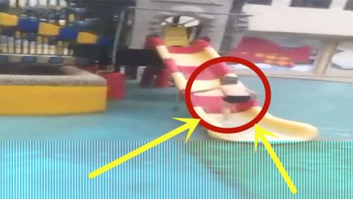 """3岁男童被滑梯""""吃脚""""遭截肢,工作人员:早知道拆掉就好了!"""