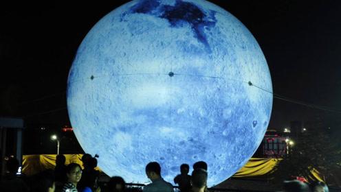 """首颗""""人造月亮""""将在中国升起?比月球亮8倍,一年节省了12亿电费"""