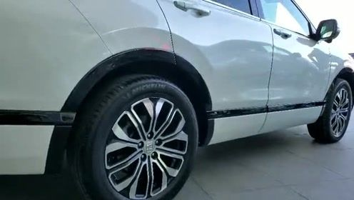 抢鲜看:全新本田皓影配备最高规格双色轮胎,多幅式设计