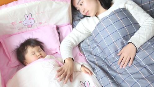 宝宝和谁睡就和谁亲,如果错过关键期怎么努力都白费
