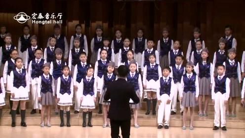 深海蓝少儿合唱团合唱《梨花又开放》