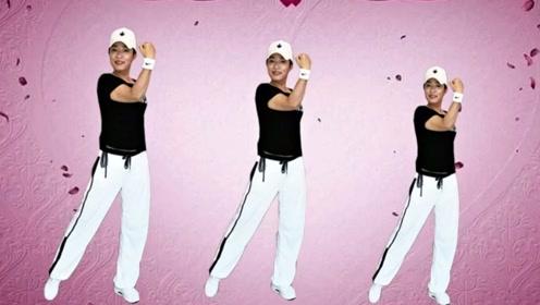 一秋广场舞《爱情主演》冬季瘦腿操,每天5分钟一周见效