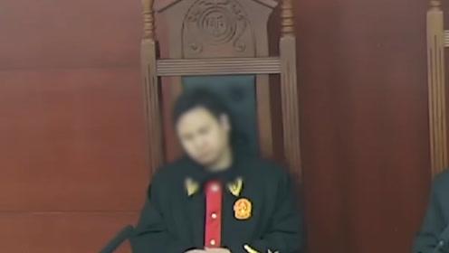 法官庭审时歪头睡倒在审判椅:已被停职检查,责令检讨