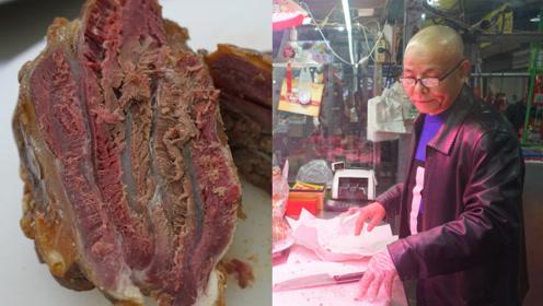 60岁男子子承父业做腊牛肉,只零售不批发只为保证肉的质量