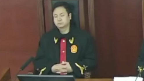 揉眼睛、打哈欠、疑似闭眼 湖南一法官被指庭审睡觉 已被停职检查