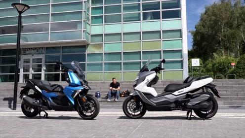 中国制造宝马-C400X-C400GT高端摩托车测评