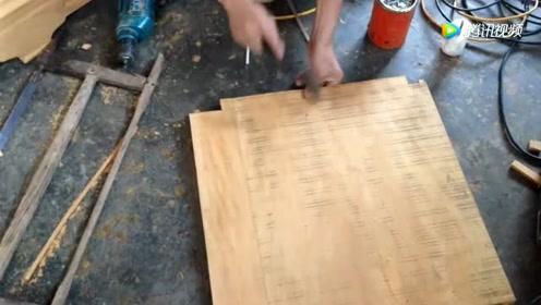 家具厂找了份打磨油漆的工作,干了不到三天就跑了,对身体伤害大