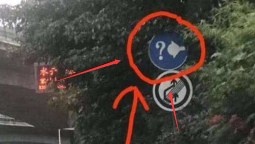 """高速路遇到""""问号加灯泡""""标志该咋走?再说最后一次,一定要记好了"""