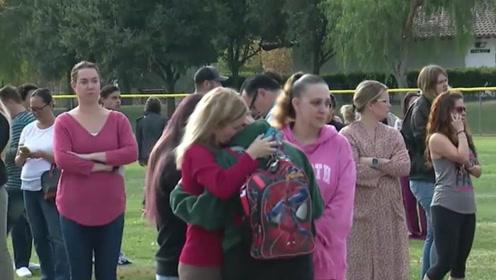 学生枪手在美国一高中打死2名学生后自杀 已确认脑死亡