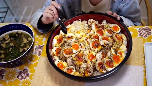 【木下大胃王】【懒人厨房】20个鸡蛋与半斤黄油的激情碰撞!
