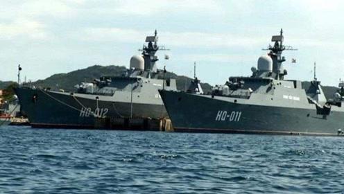 越南9艘战舰一字排开,四大新军舰领衔出动,美国:报万安滩之仇