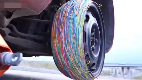 四种奇怪的轮胎设计集锦 这样的车轮你见过几种
