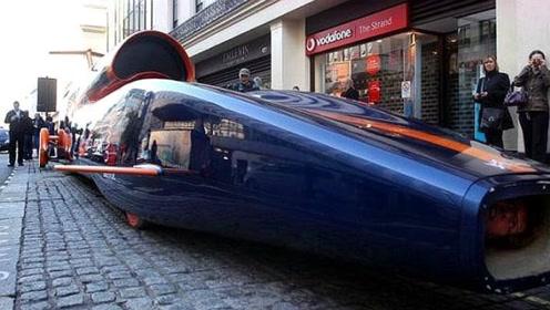 世界上最快以及加速最快的汽车,音速之风12小时围赤道走一圈