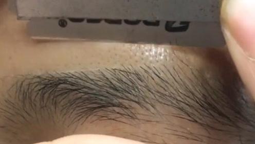 眉毛长残了这样修,才精致,更有型!