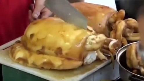 我见过最有食欲的墨鱼,切开的那一刻,太有胃口了