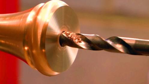 铜棒车削和装饰性滚花加工,可以叫精品了