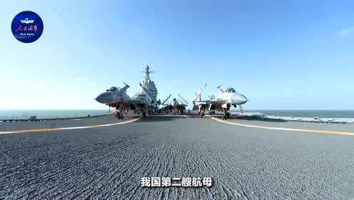 国产航母驶入台湾海峡 据新华社 海军新闻发言人程德伟介绍