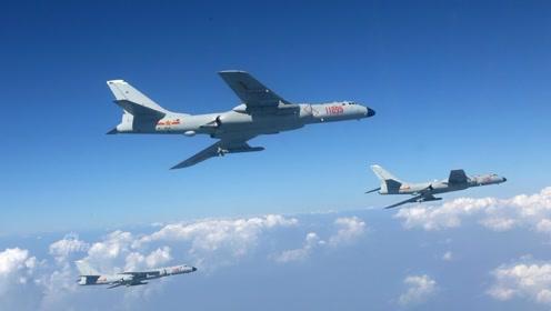 绕飞台岛、前出宫古、突防对马 空军轰-6K实战画面曝光