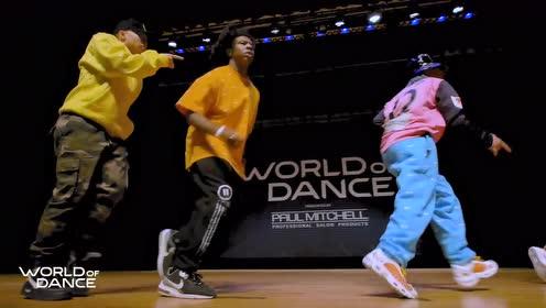 世界街舞巡回赛World Of Dance 2019美国波士顿赛区