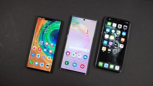 苹果三星华为三家最新旗舰屏幕对比,都是OLED屏,差距还真不小!