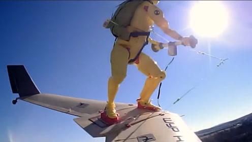 """老外发明飞行滑板,在几十米高空""""冲云"""",飞起来的感觉太刺激!"""