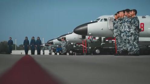 重磅!空军首次公布国际空域排除外机干扰影音