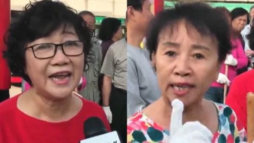 香港大妈火力全开 轮番怒斥乱港暴徒及其父母!有理有据 掌声一片