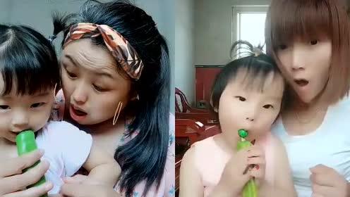 宝贝你吃的是辣椒棒棒糖吗
