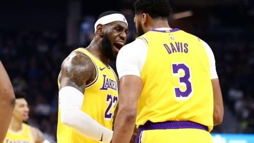 NBA名宿:只要詹姆斯浓眉保持健康 他们无人能挡