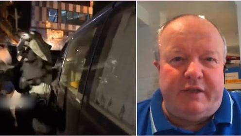 """香港警察""""暴力""""?这位英国前警员站出来反驳了!"""