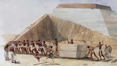 金字塔上的巨石是用沙子运输的?古埃及人太聪明,原理很简单!