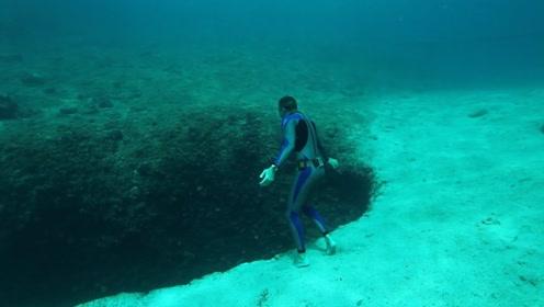 """神奇的水底""""品茶"""",在自由潜水时喝茶你想象过吗?画面美妙至极"""