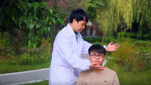 医生手把手教你,1分钟自测是否患颈椎病,快来试试吧