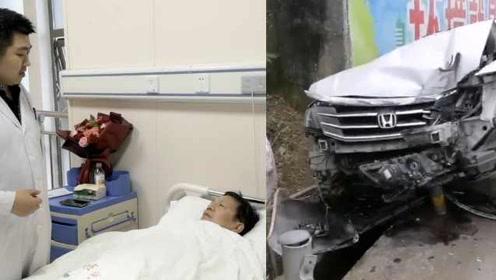 """扶贫路上出车祸,""""第一书记""""不进医院要回村拿资料"""