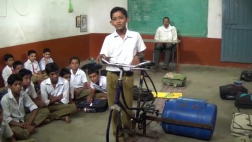 9岁小学生发明洗衣机,不耗油不耗电,成本只要50元!