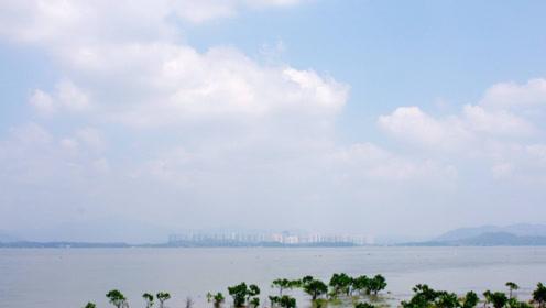 山东省现海市蜃楼,里面的景象无人见过,疑似时空发生错乱