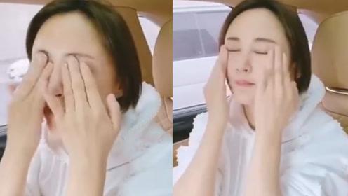"""张歆艺亲身示范护肤过程,终极""""拍拍拍""""手法,简单粗暴易上手"""