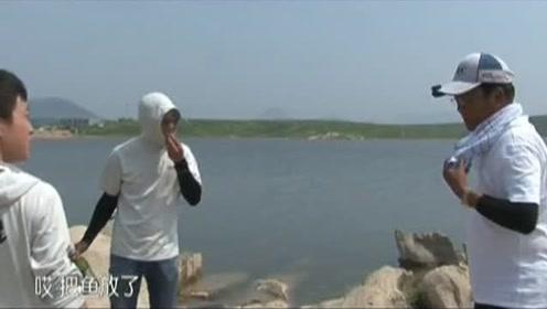 这才是真正的钓鱼人,最后时刻的做法真暖心