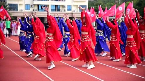 北师大北海附中第四届文化体育科技节开幕式