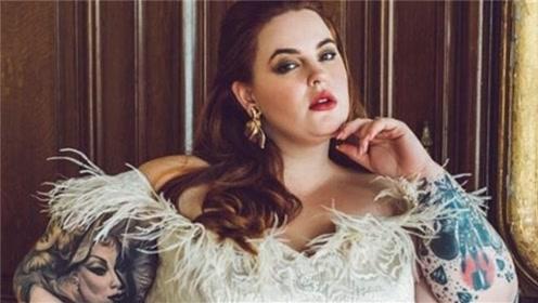 """模特界的""""一朵奇葩"""",身材肥胖却拥有大批粉丝!看完被惊艳到了"""