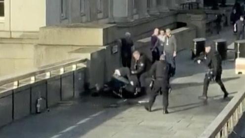 伦敦桥发生恐怖袭击致3死 男子持刀伤人被击毙