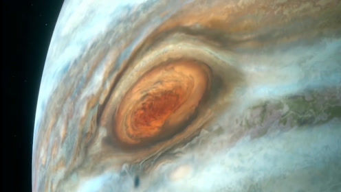 """凝望太阳系超过350年的木星""""巨眼""""-大红斑,将要消失了?"""