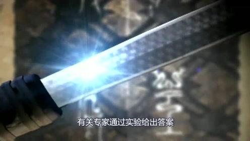 """沉睡千年依旧锋利无比,瞬间划破16张重叠白纸,不愧为""""天下第一剑"""""""