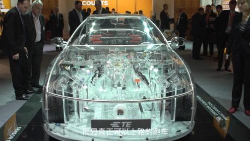 这个老外太坏,研发全透明汽车