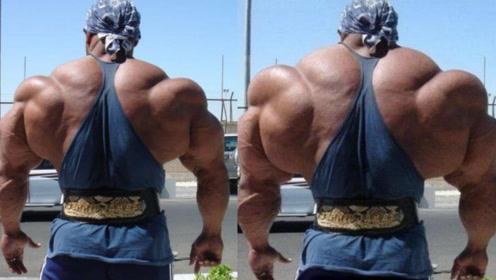"""地球3大""""超恐怖""""肌肉!个个块头逆天,走在街头就像个怪物!"""