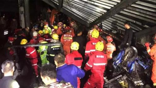 浙江海宁污水罐体倒塌事故致9死4重伤 失联人员已全部找到