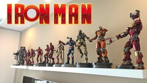 新买的多种钢铁侠展示:你觉得哪款最帅气?