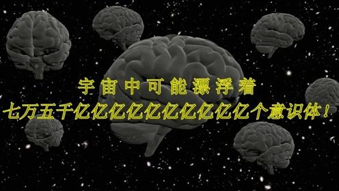 玻尔兹曼大脑:宇宙中可能漂浮着七万五千亿亿亿亿亿亿亿亿亿亿个意识体!