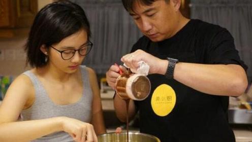 黄磊与多多一同烘焙蛋糕 主厨变听话帮手更显幸福