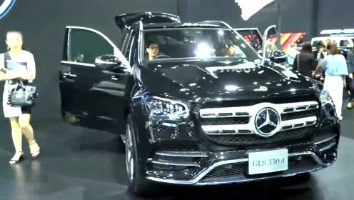 就是这么豪华,2020款全新奔驰GLS来了,比宝马X7更贵,心动吗?
